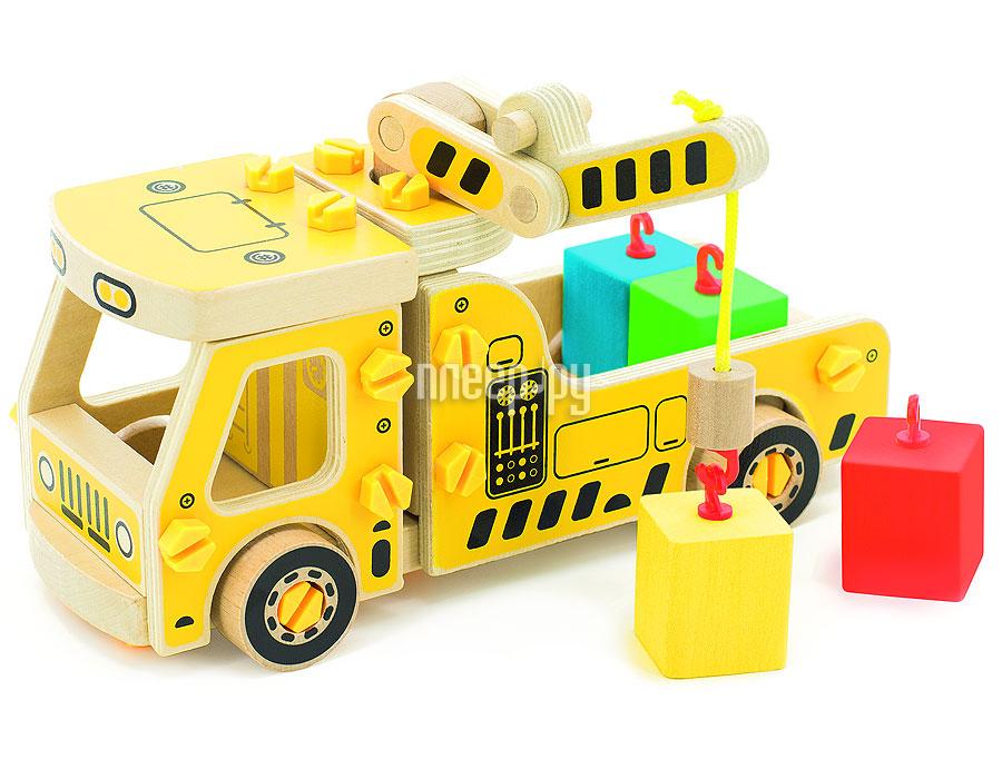 Конструктор Мир деревянных игрушек Машина погрузчик Д033а