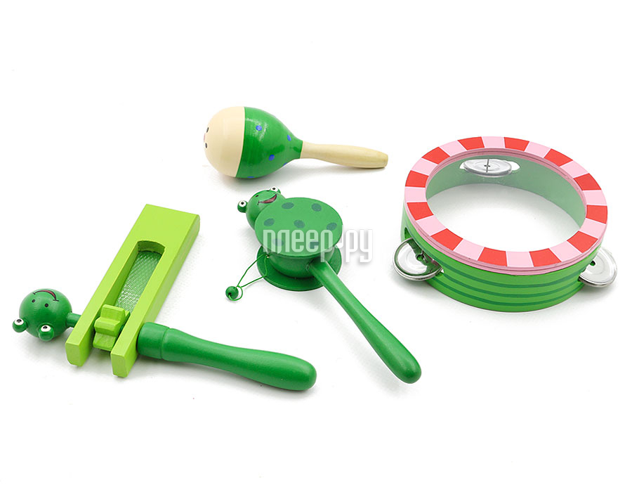 Детский музыкальный инструмент Мир деревянных игрушек Музыкальный набор 3 Д095