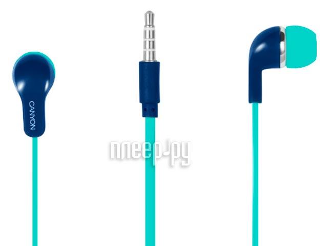 Гарнитура Canyon OSCNSCEPM02GBL Green-Blue