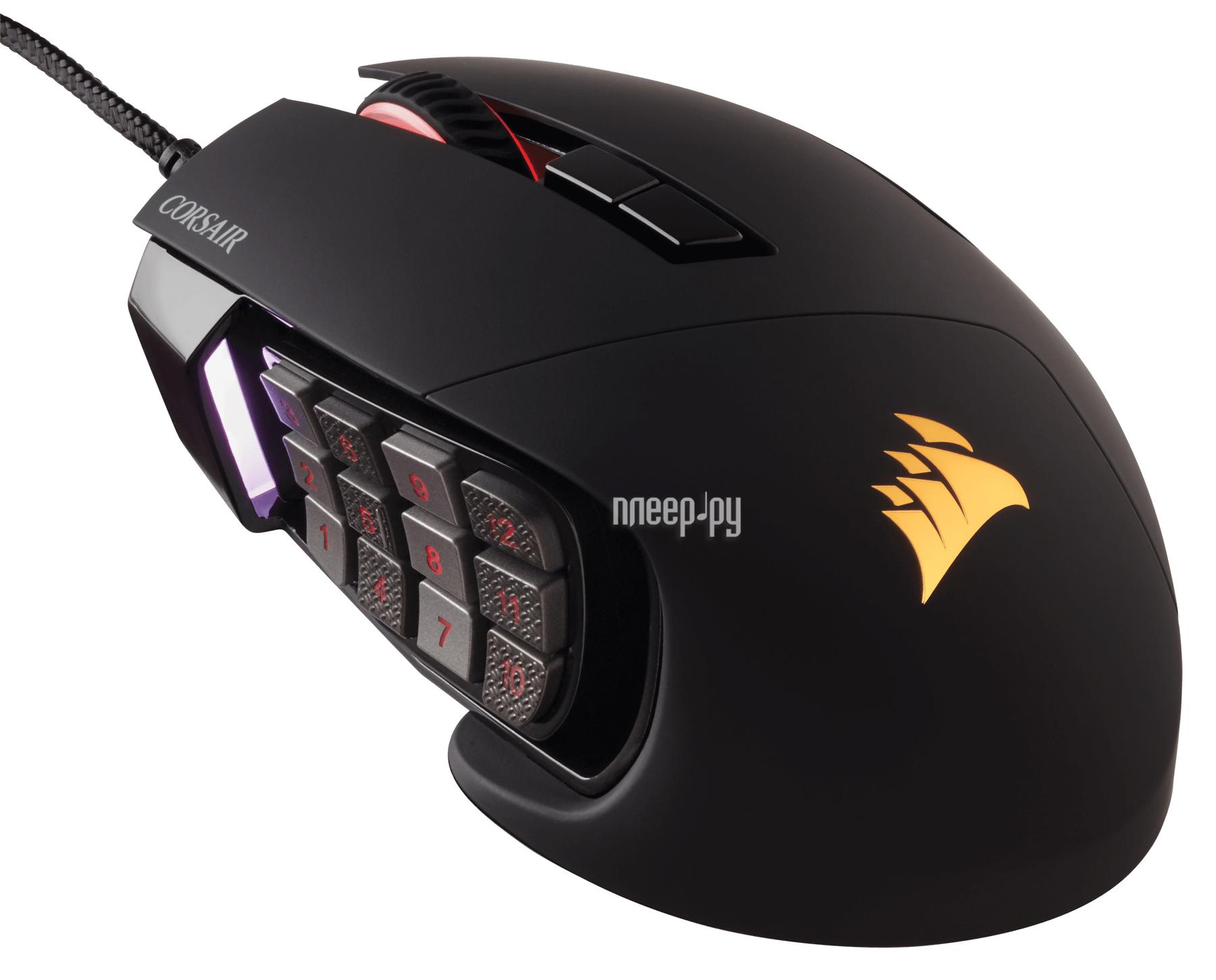 Мышь Corsair Scimitar PRO RGB Black USB CH-9304111-EU