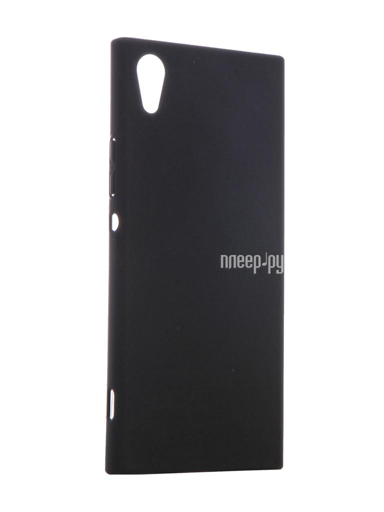 Аксессуар Чехол Sony Xperia XA1 BROSCO Soft-touch Black XA1-4SIDE-ST-BLACK