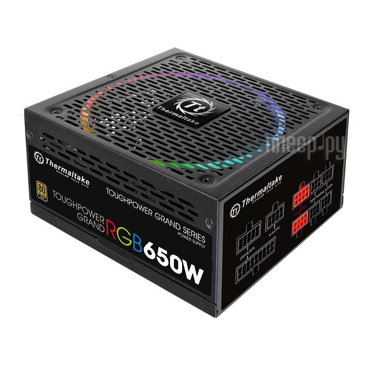 Блок питания Thermaltake Toughpower Grand RGB Gold 650W PS-TPG-0650FPCGEU-R