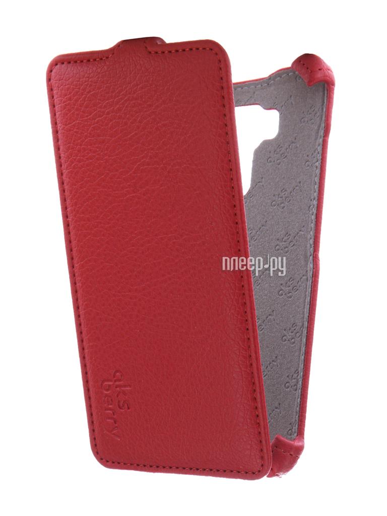 Аксессуар Чехол ASUS ZenFone 3 Laser ZC551KL Aksberry Red