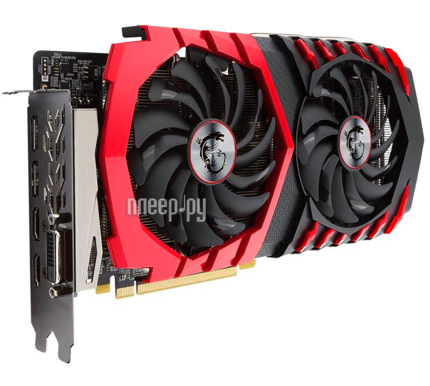 Видеокарта MSI Radeon RX 570 1281Mhz PCI-E 3.0 4096Mb 7000Mhz 256 bit DVI 2xHDMI HDCP RX 570 GAMING X 4G