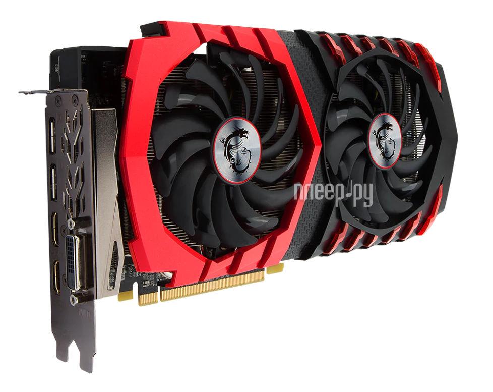 Видеокарта MSI Radeon RX 580 1380Mhz PCI-E 3.0 4096Mb 7000Mhz 256 bit DVI 2xHDMI HDCP RX 580 GAMING X 4G 460538