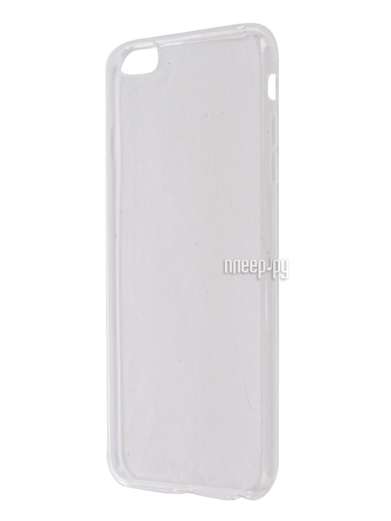 Аксессуар Чехол Aksberry Silicone для APPLE iPhone 6 Plus / 6s Plus 0.3mm Transparent
