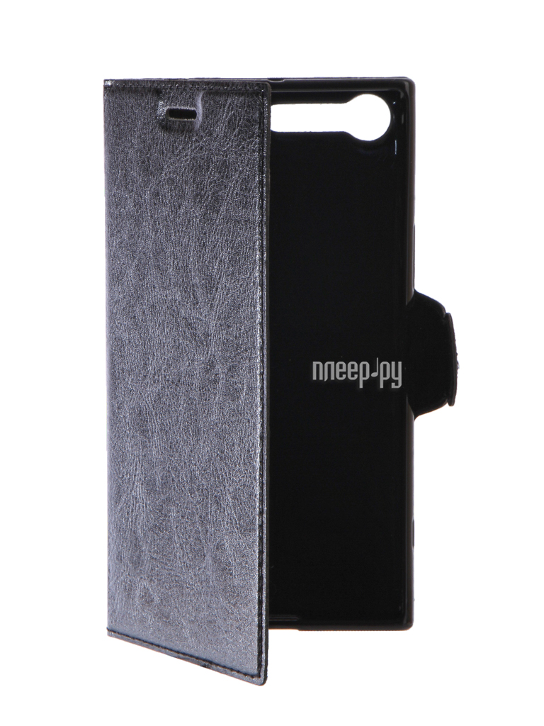 Аксессуар Чехол Sony Xperia XZ Premium Red Line Book Type Black