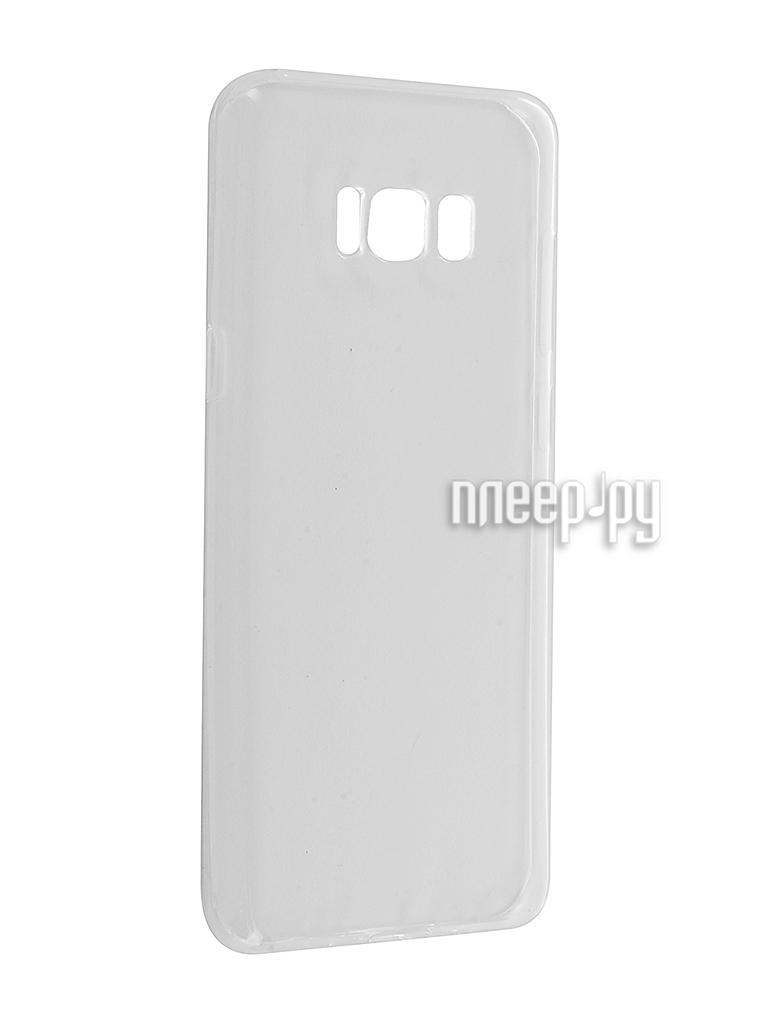 Аксессуар Чехол Samsung Galaxy S8 Plus iBox Crystal Silicone Transparent