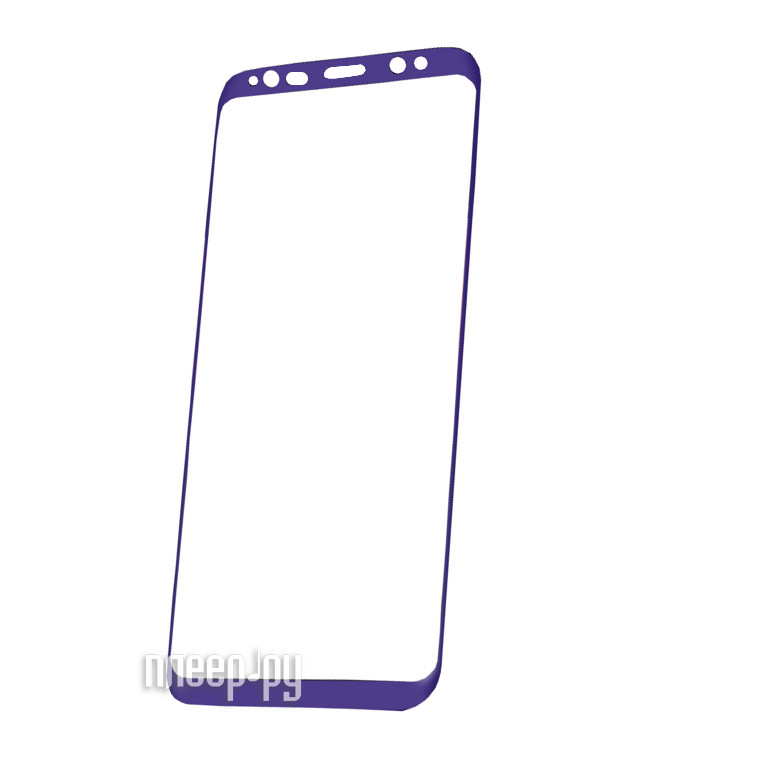 Аксессуар Защитное стекло Samsung Galaxy S8 Plus Red Line Full Screen 3D Tempered Glass Purple