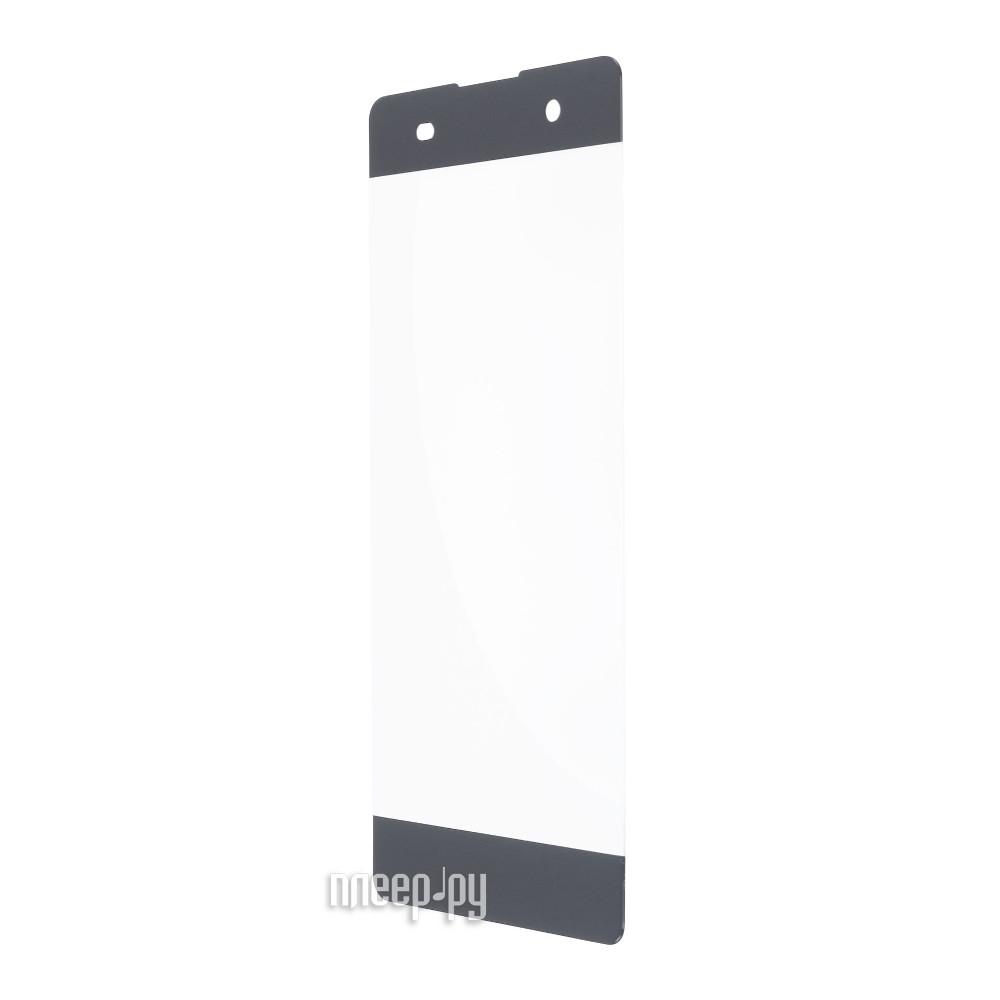 Аксессуар Защитное стекло Sony Xperia XA1 Ultra Red Line Full Screen Tempered Glass Black