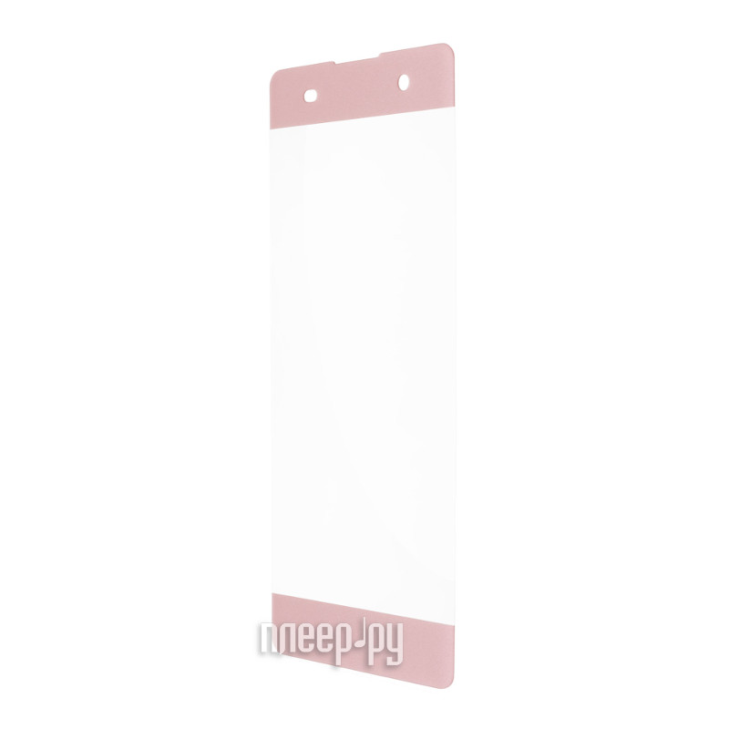 Аксессуар Защитное стекло Sony Xperia XA1 Red Line Full Screen Tempered Glass Pink
