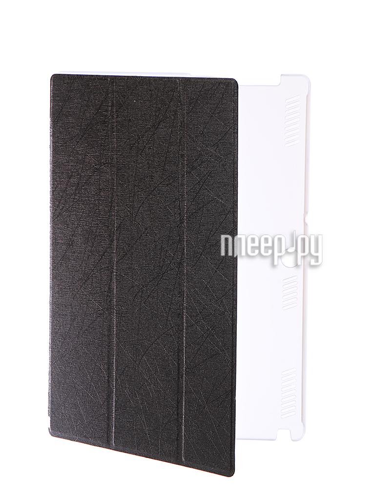 Аксессуар Чехол Lenovo Tab 2 A10-70 iBox Premium Black-Transparent