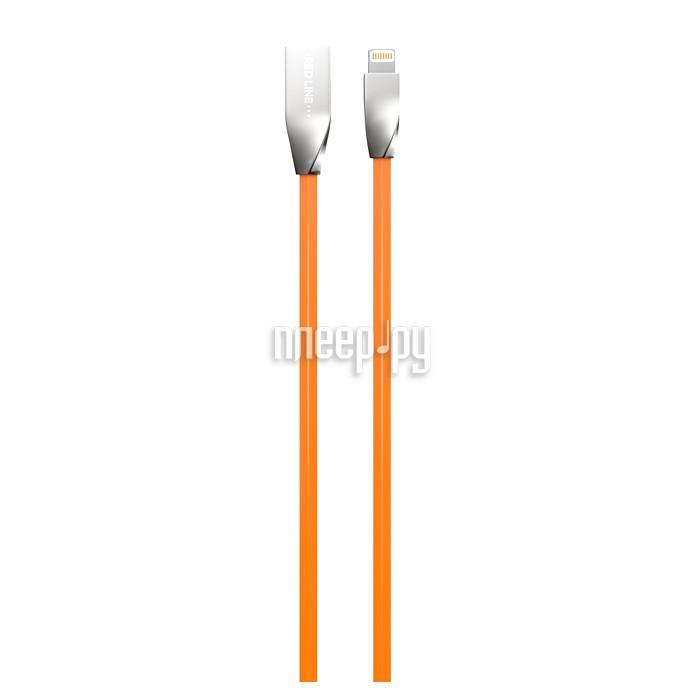 Аксессуар Red Line Smart High Speed USB - 8 pin Orange