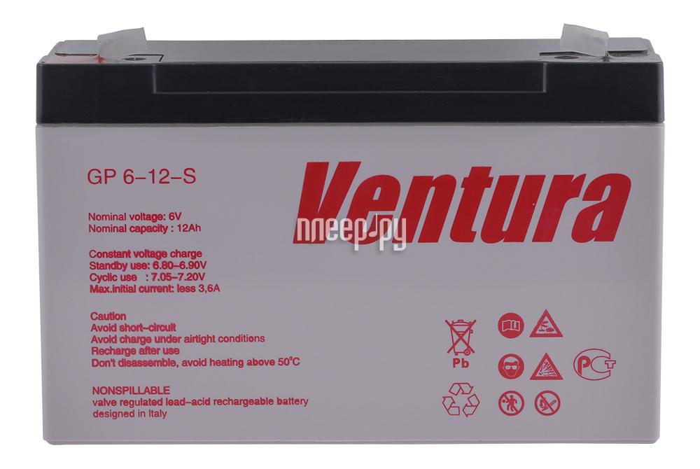 Аккумулятор для ИБП Ventura GP 6-12-S