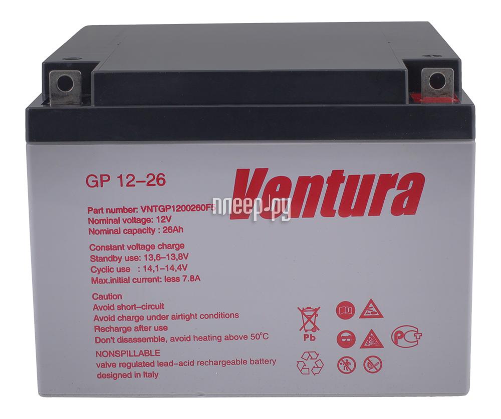 Аккумулятор для ИБП Ventura GP 12-26