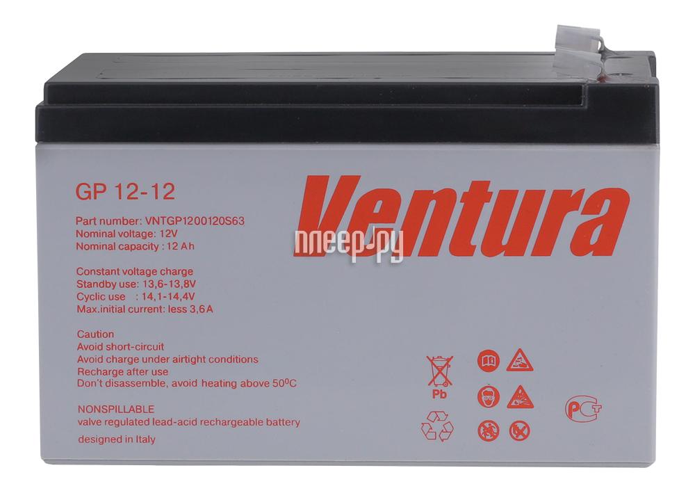 Аккумулятор для ИБП Ventura GP 12-12