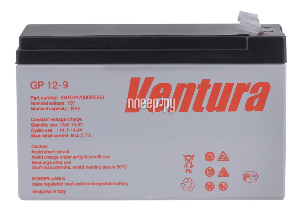 Аккумулятор для ИБП Ventura GP 12-9