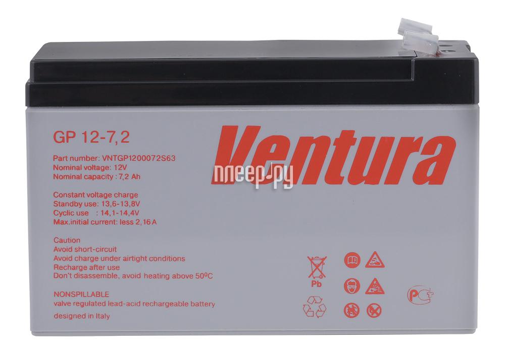 Аккумулятор для ИБП Ventura GP 12-7.2