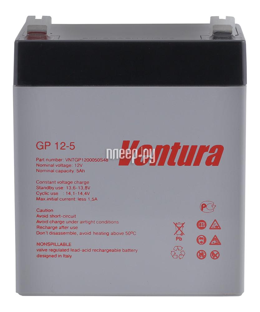 Аккумулятор для ИБП Ventura GP 12-5
