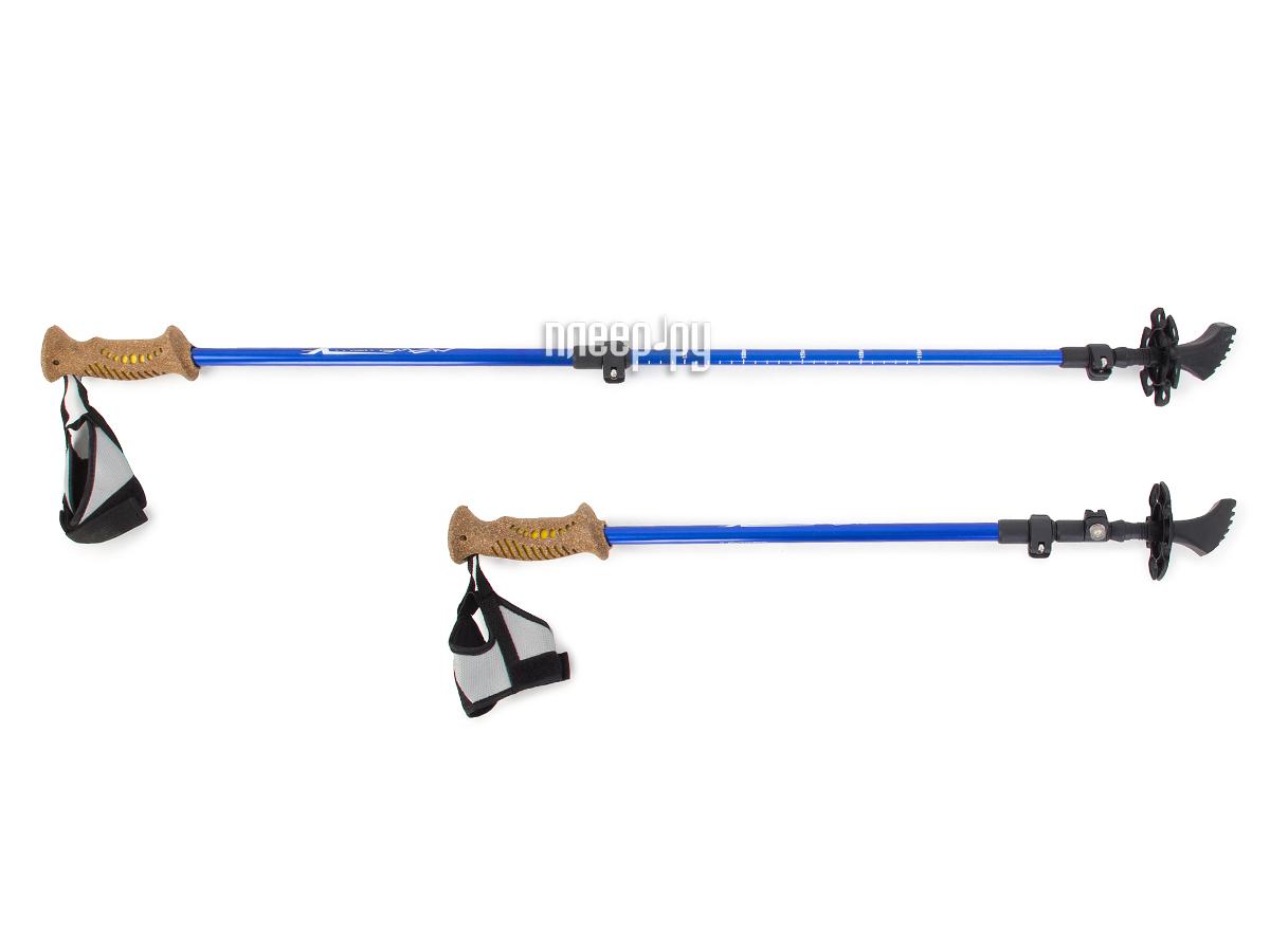 Палки Larsen Extreme 3-х секц. 70-140cm + чехол за 1274 рублей