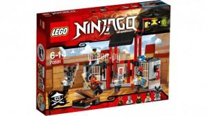Купить Конструктор Lego Ninjago Побег из тюрьмы 70591