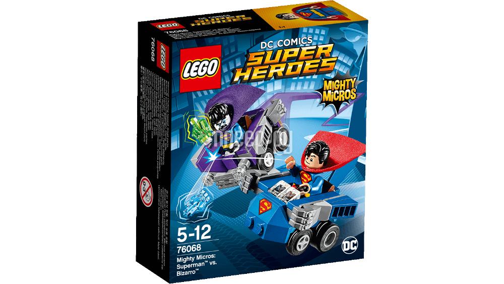 Конструктор Lego Super Heroes Супермен против Бизарро 76068