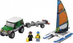 Купить Конструктор Lego City Great Vehicles Внедорожник с прицепом для катамарана 60149