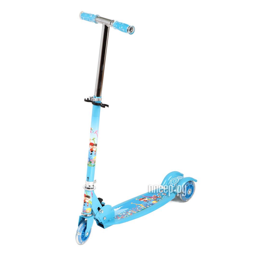 Самокат Leader Kids JC-640 Blue