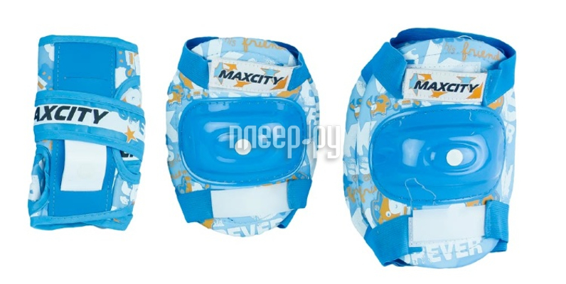 Комплект защиты Maxcity Teddy M Light Blue