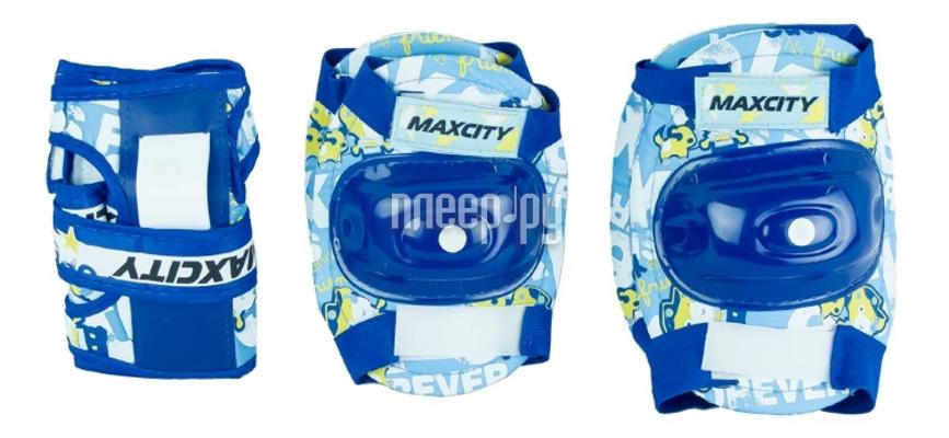 Комплект защиты Maxcity Teddy M Blue