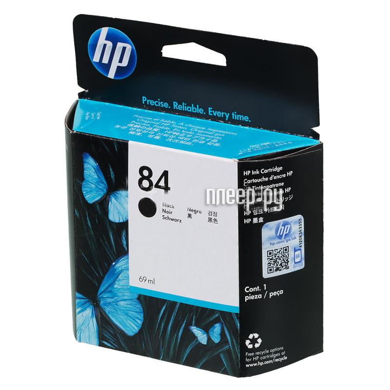 Картридж HP 84 C5016A Black для DJ 10 / 20 / 50ps