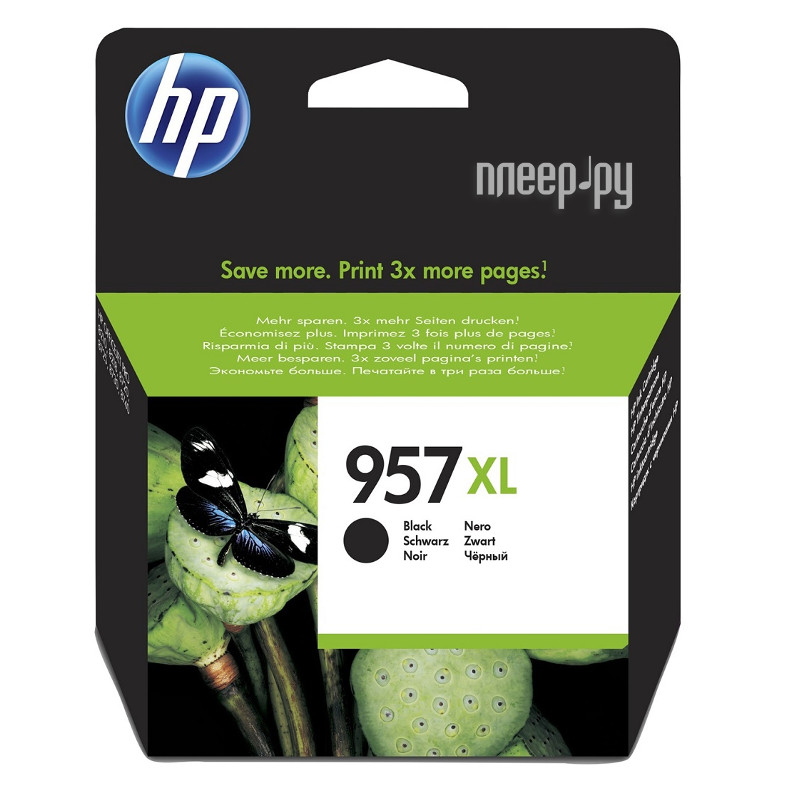 Картридж HP 957XL L0R40AE Black