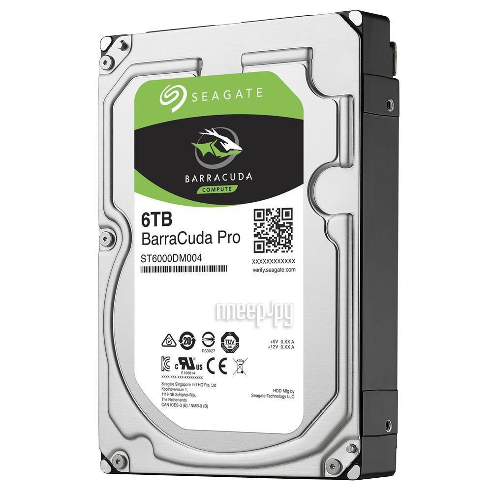 Жесткий диск 6Tb - Seagate 7200RPM ST6000DM004