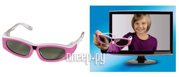 Очки 3D Hama 3D 95568 Pink  Pleer.ru  1001.000