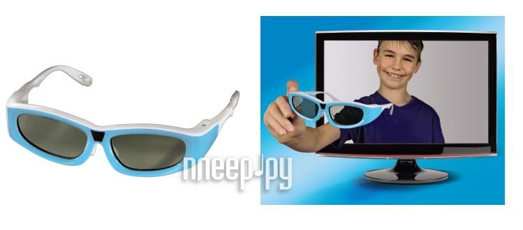 Очки 3D Hama 3D 95567 Light Blue  Pleer.ru  1001.000