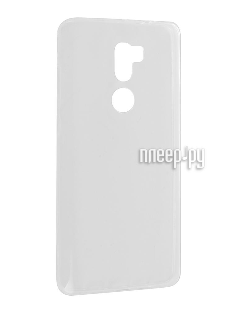 Аксессуар Чехол Xiaomi Mi5s Plus Cojess Silicone TPU 0.3mm Transparent за 479 рублей
