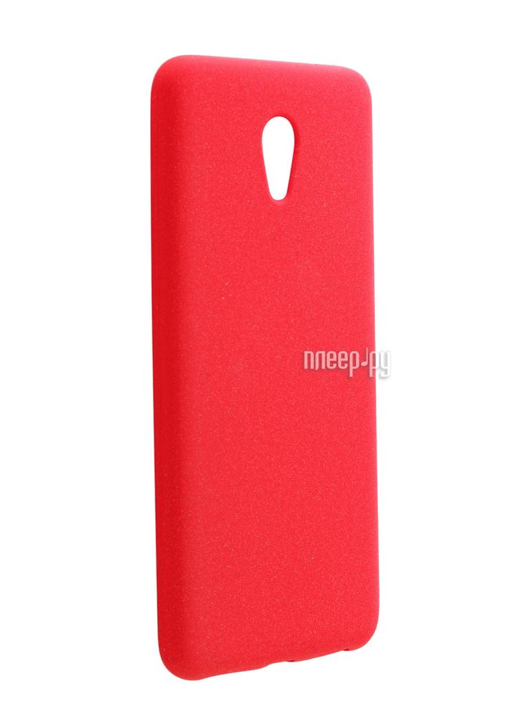 Аксессуар Чехол Meizu M5 Note Zibelino Soft Matte Red ZSM-MEZ-M5-NOT-RED