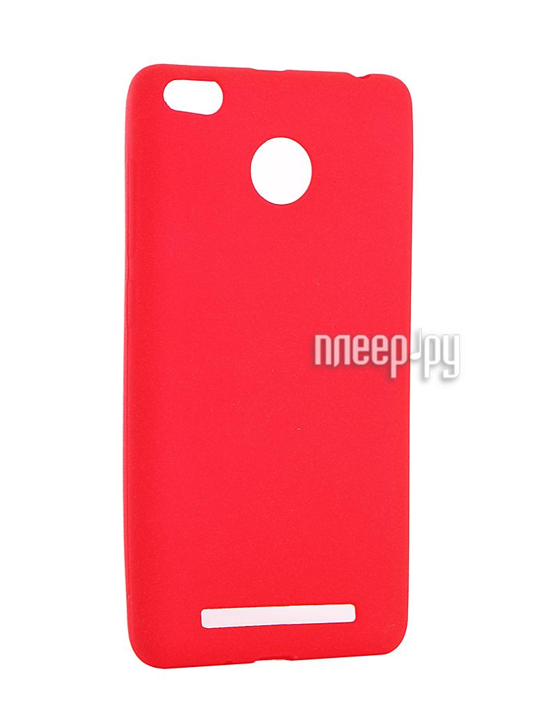 Аксессуар Чехол Xiaomi Redmi 3 / 3S / 3 PRO Zibelino Soft Matte Red ZSM-XIA-RDM-3S-RED