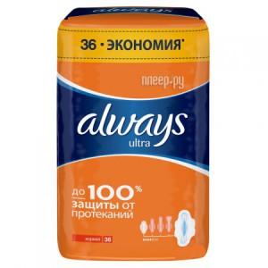Купить Always Ultra Normal Quatro AL-83734557 36шт