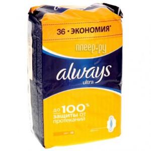 Купить Always Ultra Light Quatro AL-83734556 36шт