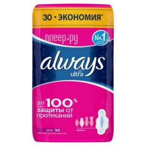 Купить Always Ultra Super Quatro AL-83734555 30шт