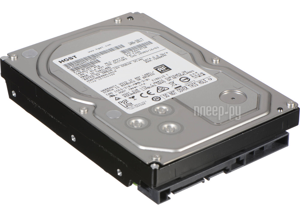 Жесткий диск 6Tb - Hitachi Deskstar NAS 0S04007 H3IKNAS600012872SWW