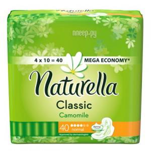 Купить Naturella Classic Camomile Normal Quatro NT-83731366 40шт