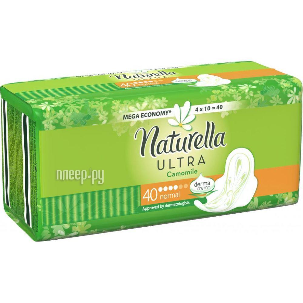 Naturella Ultra Camomile Normal Quatro NT-83734595 40шт за 228 рублей