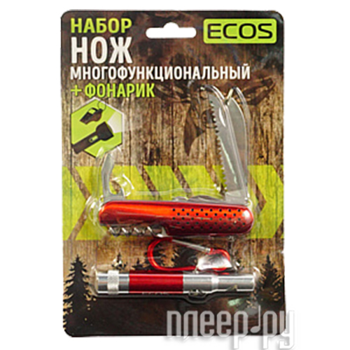 Нож Ecos Red 325126
