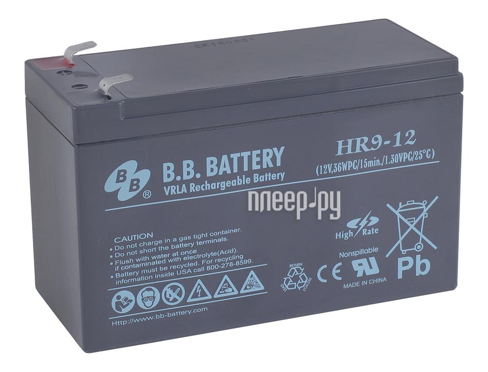 Аккумулятор для ИБП B.B.Battery HR 9-12