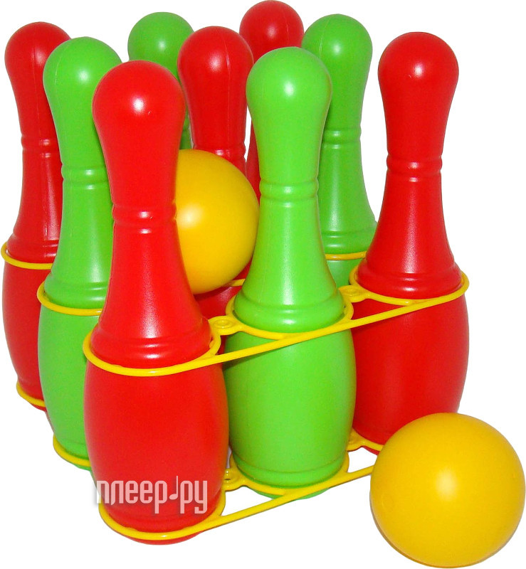 Игрушка для активного отдыха Полесье Кегли 6447