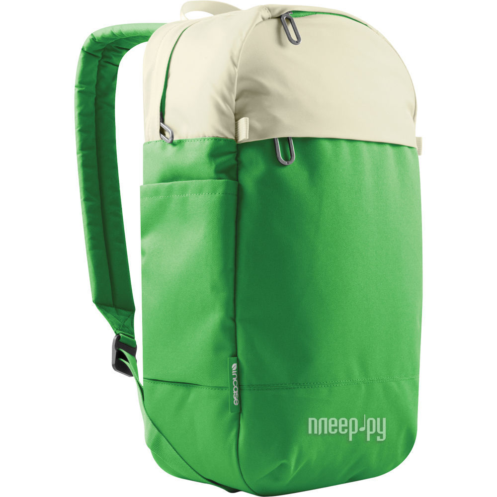 Аксессуар Incase 15.0-inch Designs Corp Campus Compact Backpack для MacBook Pro White-Kelly Green CL55467