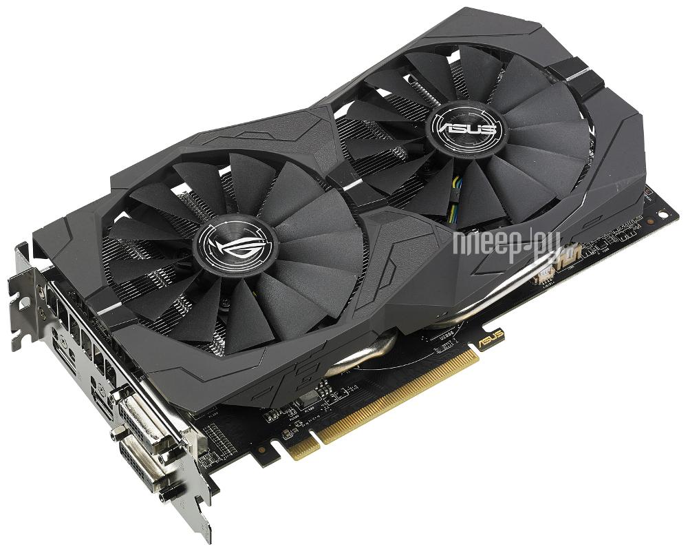 Видеокарта ASUS RX 570 1300Mhz PCI-E 3.0 4096Mb 7000Mhz 256 bit 2xDVI HDMI HDCP ROG-STRIX-RX570-O4G-GAMING 90YV0AJ0-M0NA00 купить