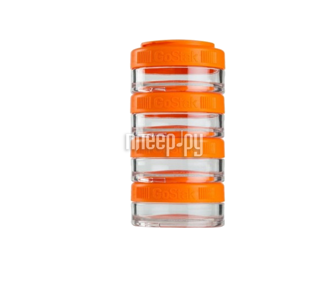 Кухонная принадлежность BlenderBottle GoStak 40ml Orange BB-GS40-ORAN